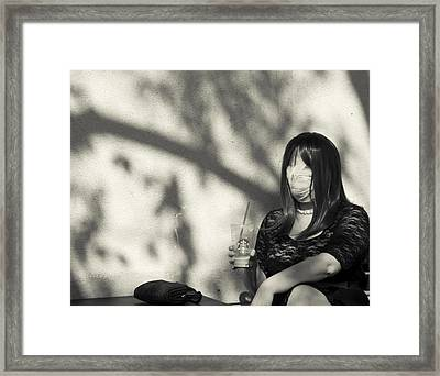 Framed Print featuring the photograph Mummy by Lora Lee Chapman