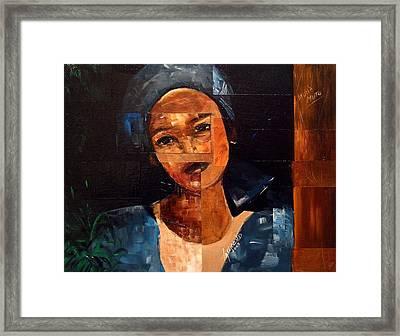 Muna Muto Framed Print by Laurend Doumba