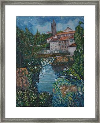 Mundaka Framed Print