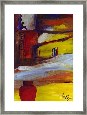 Mundo Abstract 66 Framed Print by Mirko Gallery