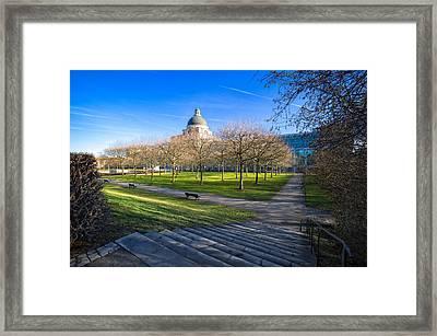 Munich Impression Framed Print by Juergen Klust