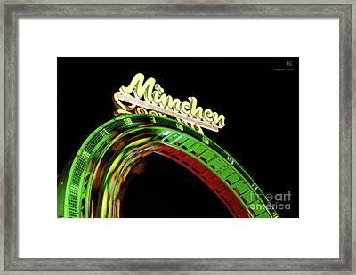 Munich Looping Framed Print by Hannes Cmarits