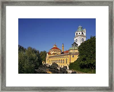 Munich - Mueller'sches Volksbad - Au-haidhausen Framed Print by Christine Till