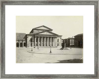 Munich National Theatre Framed Print