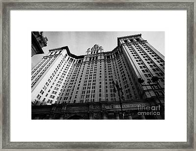 Municipal Building Centre Street New York City Framed Print