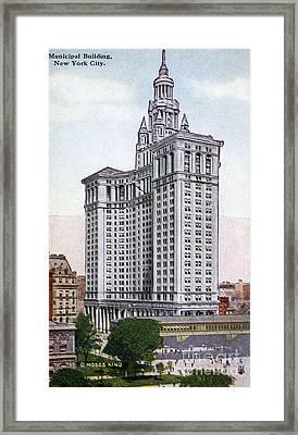 Municipal Building Framed Print by Granger