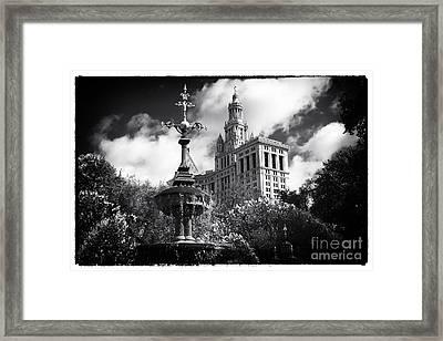Municipal Building Framed Print by John Rizzuto