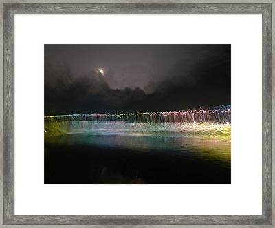Munro River Reflections 4 Framed Print