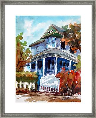 Munzesheimer Manor B B Mineola Tx Framed Print by Ron Stephens