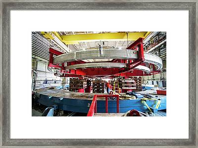 Muon G-2 Storage Ring Transport Framed Print by Brookhaven National Laboratory