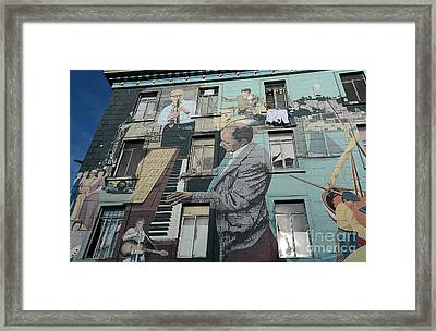 Mural In S F Framed Print