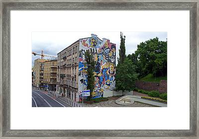 Mural Framed Print by Kees Colijn
