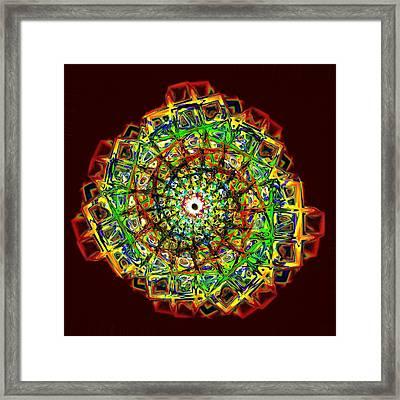 Murano Glass - Red Framed Print by Anastasiya Malakhova