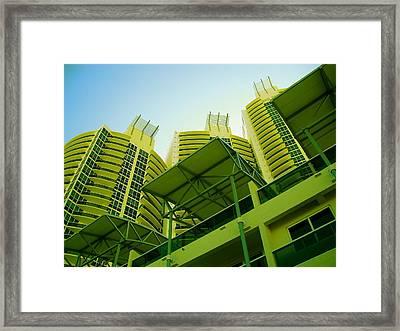 Murano Grande, Miami II Framed Print