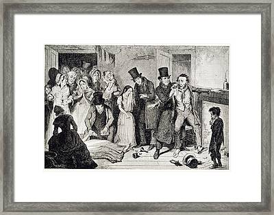 Murder Framed Print by British Library