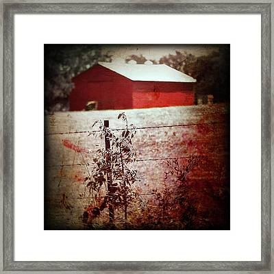 Murder In The Red Barn Framed Print
