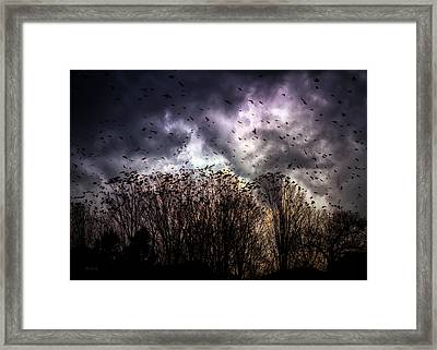 Murder Once A Year Framed Print