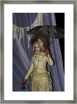 Murderess Medussa Framed Print by Gregory Whiting