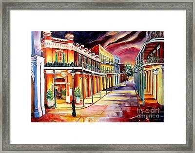 Muriel's In The French Quarter Framed Print