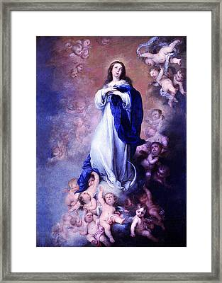 Murillo Vintage Mary Framed Print