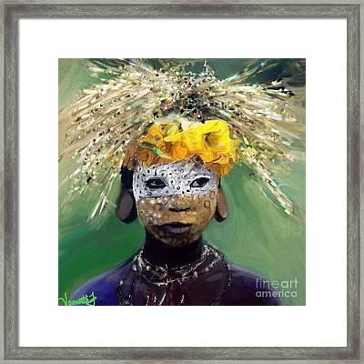 Muris Tribe Africa Framed Print by Vannetta Ferguson