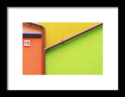 Lavagna Framed Prints