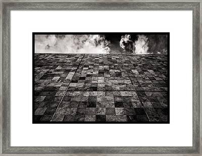 Muro De Lozas Framed Print
