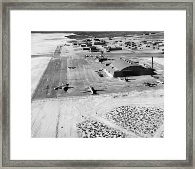 Muroc Flight Test Base, 1945 Framed Print by Science Photo Library