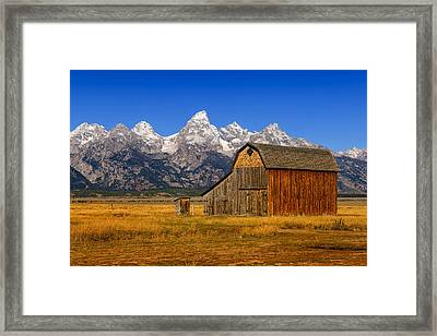 Framed Print featuring the photograph Murphy Barn by Greg Norrell