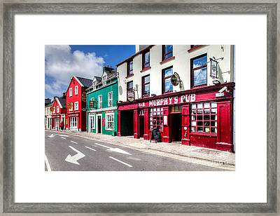 Murphy Is Everywhere Framed Print