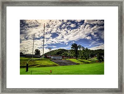 Murphy Nc Bulldogs Goal Framed Print
