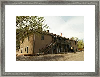Murphy Store Lincoln City New Mexico   Framed Print by Jeff Swan