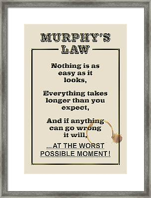 Murphy's Law    in Action 1