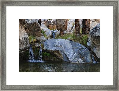 Murray Canyon Falls Framed Print by Scott Campbell