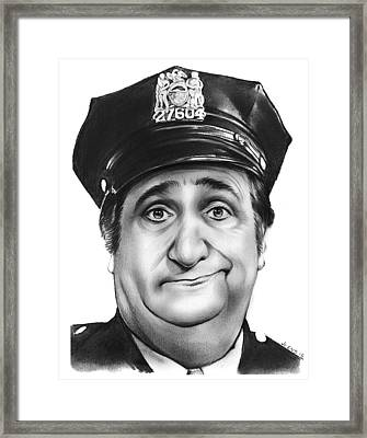 Murray The Cop Framed Print