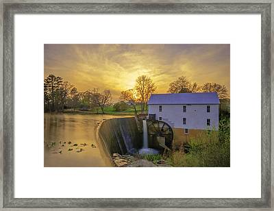 Murrays Mill Framed Print