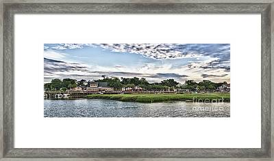 Murrells Inlet Marsh Walk Framed Print