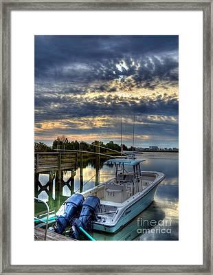Murrells Inlet Morning 4 Framed Print by Mel Steinhauer