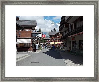 Murren Switzerland Framed Print