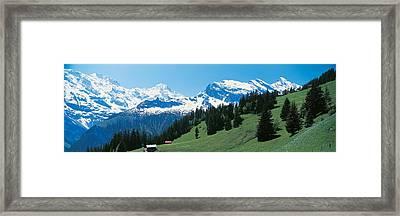 Murren Switzerland Framed Print