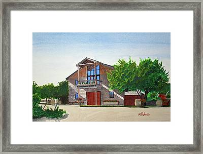Murrietas Well Winery Framed Print by Mike Robles
