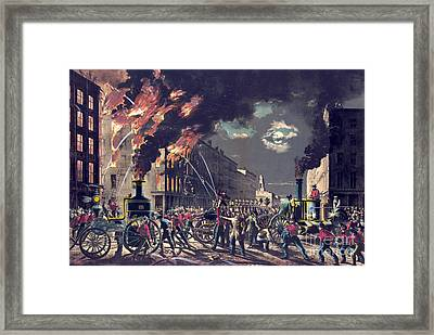 Muscle And Steam 1861 Framed Print by Padre Art
