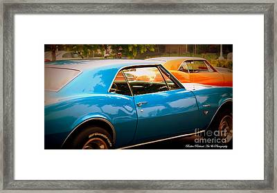 Muscle Framed Print