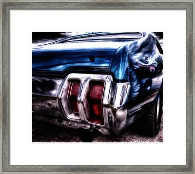 Muscle Car Framed Print