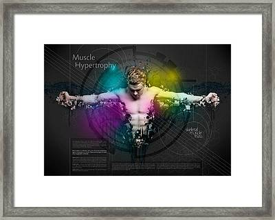 Muscle Hypertrophy Framed Print by Samuel Whitton