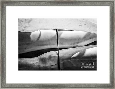 Muscle Memory Abstract Framed Print by Dean Harte