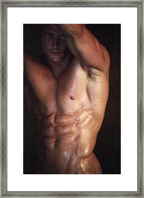 Muscolo Nudo Framed Print