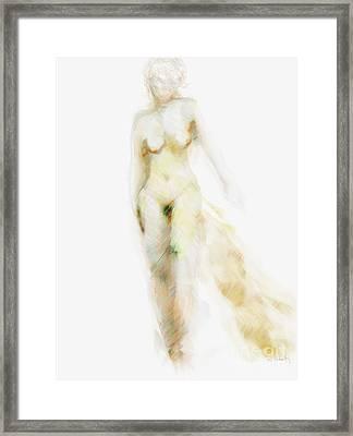 Framed Print featuring the digital art Muse by Gabrielle Schertz