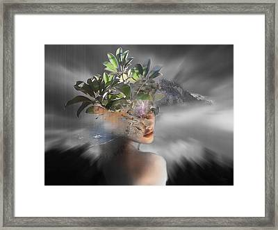 Muse II Framed Print by Andre Pillay