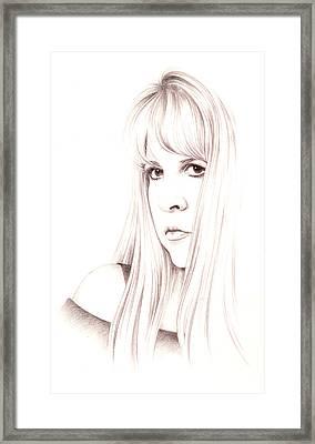 Muse Framed Print